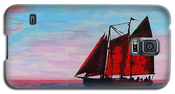 Red Sails On The Chesapeake Galaxy S5 Case