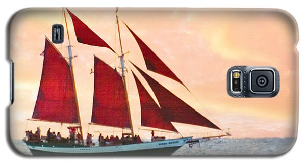 Red Sails Sunset Galaxy S5 Case
