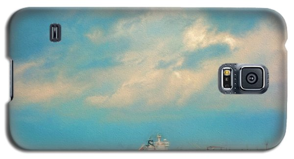 Red Ship In Oils Galaxy S5 Case