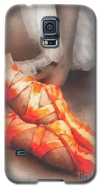 Red Shoes Galaxy S5 Case by Mo T