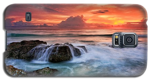 Red Sky At Dawn Galaxy S5 Case