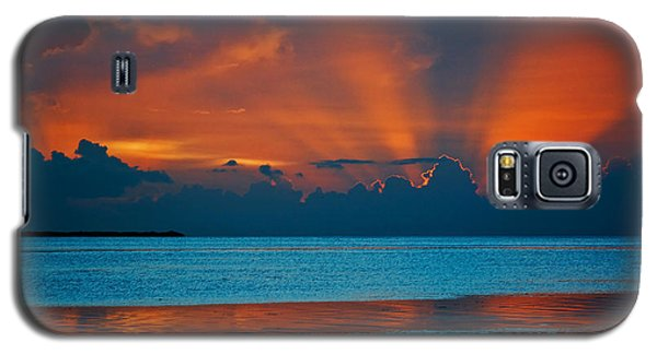 Tropical Florida Keys Red Sky At Night Galaxy S5 Case