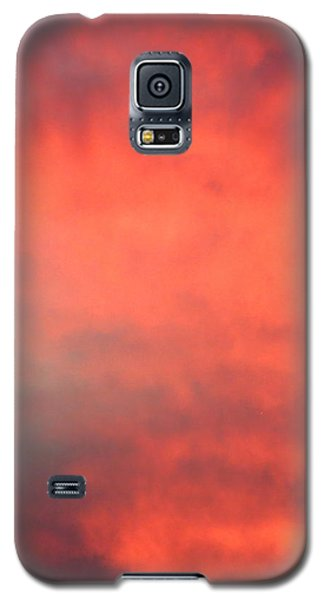Red Sky At Night Galaxy S5 Case by Laurel Powell