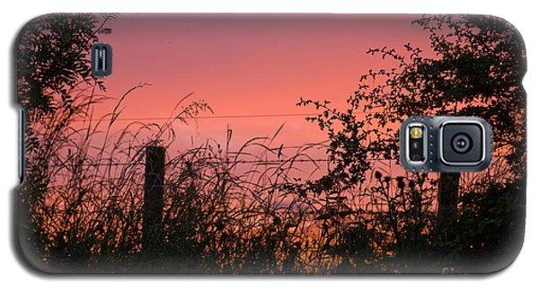 Red Sky At Night Galaxy S5 Case by Liz  Alderdice