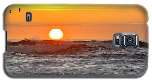 Red Sky At Night Sailors  Delight Galaxy S5 Case