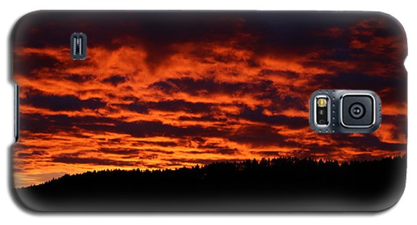 Red Sky In The Morning Galaxy S5 Case