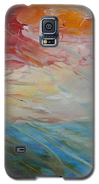 Red Sky Galaxy S5 Case by Sandra Nardone