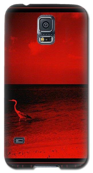 Red Sky Galaxy S5 Case by Steve Godleski