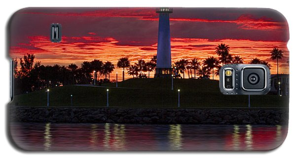 Red Skys At Night Denise Dube Photography Galaxy S5 Case