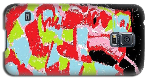 Galaxy S5 Case featuring the digital art Red Snake Nebula by Don Koester