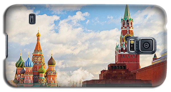 Red Square Of Moscow - Featured 3 Galaxy S5 Case by Alexander Senin