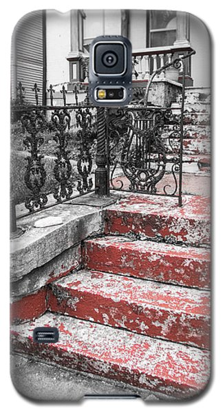 Red Steps Galaxy S5 Case