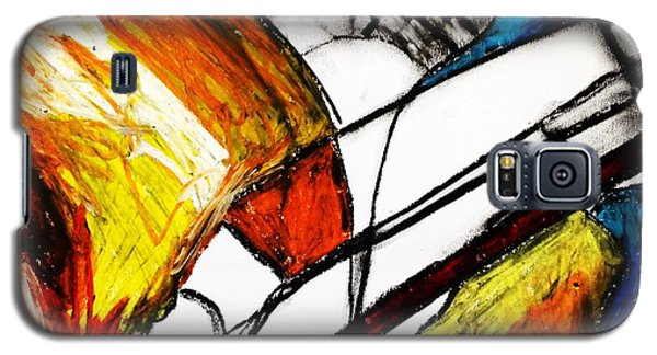 Red Still Life Galaxy S5 Case by Helen Syron