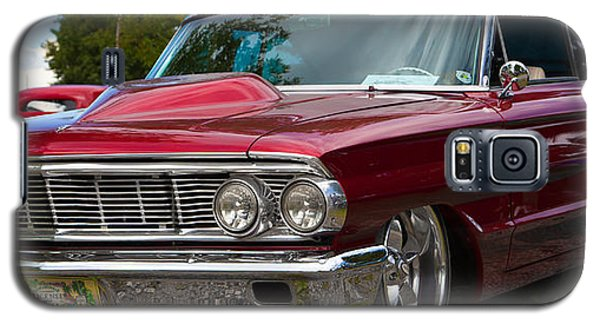 Galaxy S5 Case featuring the photograph Red Street Car Rod by Mick Flynn