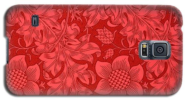Red Sunflower Wallpaper Design, 1879 Galaxy S5 Case
