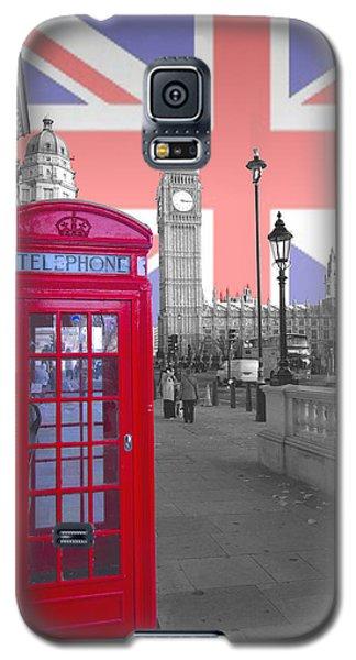 Red Telephone Big Ben Galaxy S5 Case