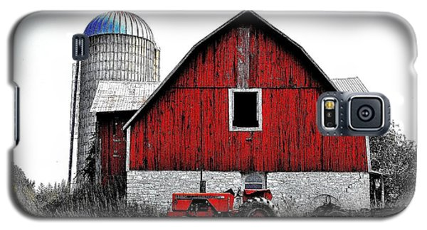 Red Tractor - Canada Galaxy S5 Case