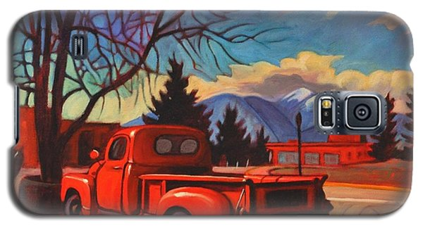 Red Truck Galaxy S5 Case by Art James West