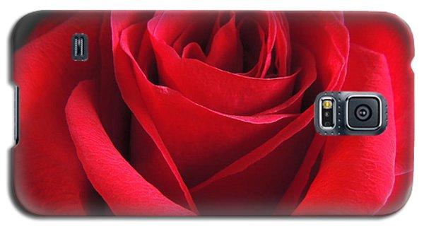 Red Velvet Galaxy S5 Case by Kristine Merc
