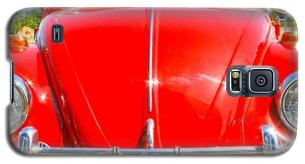 Classic Galaxy S5 Case - Red Vw by Georgia Fowler