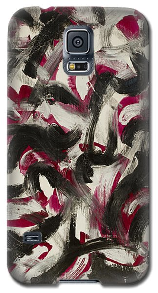 Red White Black Galaxy S5 Case
