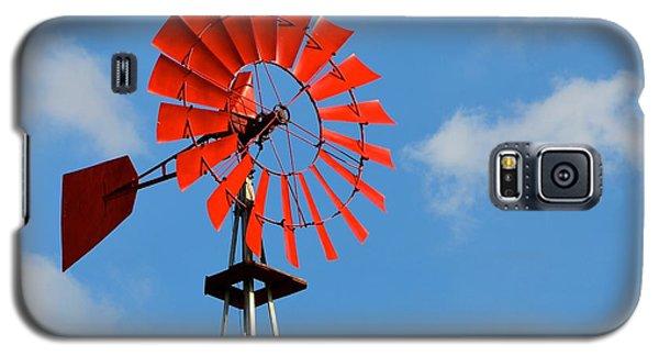 Red Windmill Galaxy S5 Case