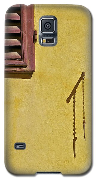 Red Window Shutter Of Tuscany Galaxy S5 Case