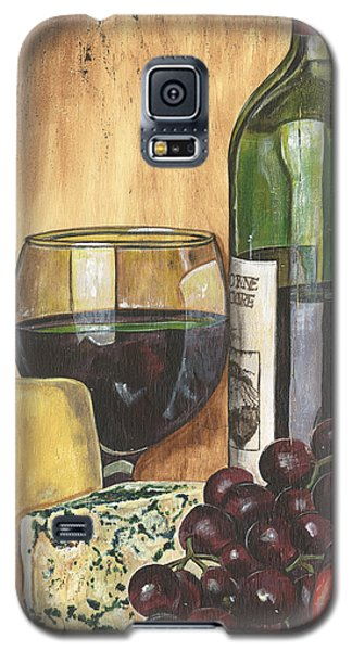 Red Wine And Cheese Galaxy S5 Case by Debbie DeWitt