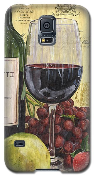Pear Galaxy S5 Case - Red Wine And Pear by Debbie DeWitt
