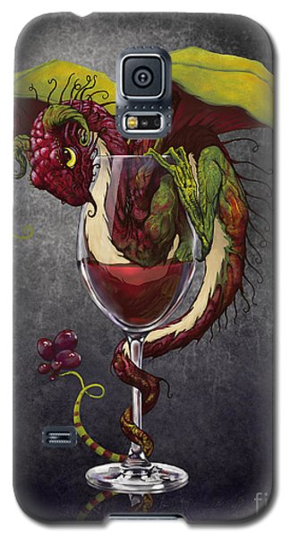 Red Wine Dragon Galaxy S5 Case by Stanley Morrison