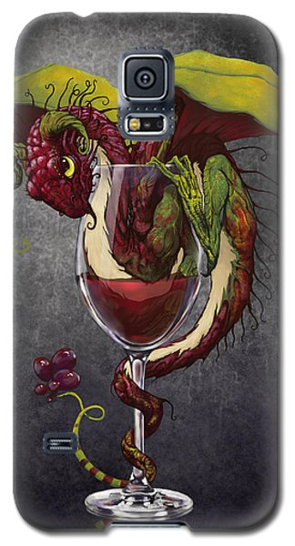 Wine Galaxy S5 Case - Red Wine Dragon by Stanley Morrison