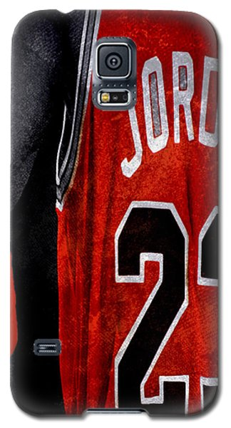 Galaxy S5 Case featuring the digital art Red Wrist Band by Brian Reaves