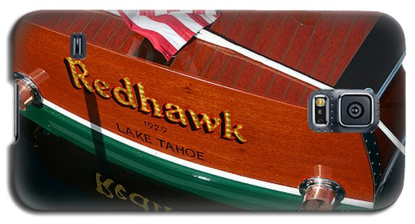 Galaxy S5 Case featuring the photograph Redhawk by Vinnie Oakes