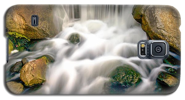 Galaxy S5 Case featuring the photograph Redhawk Waterfall by Robert  Aycock