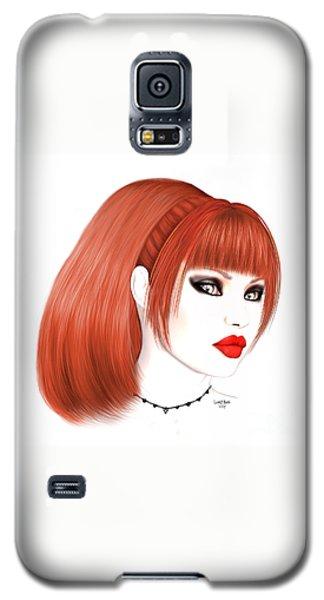 Redhead Cassia Galaxy S5 Case