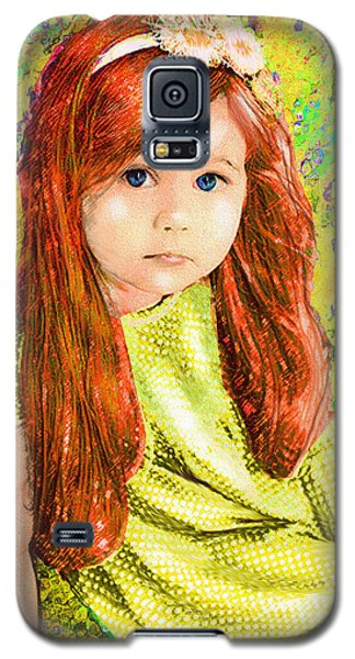 Redhead Galaxy S5 Case by Jane Schnetlage