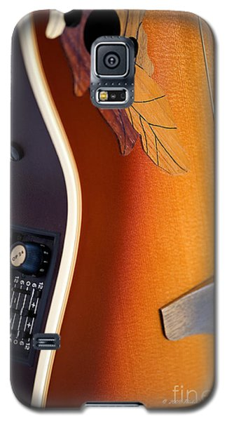 Redish-brown Guitar Galaxy S5 Case