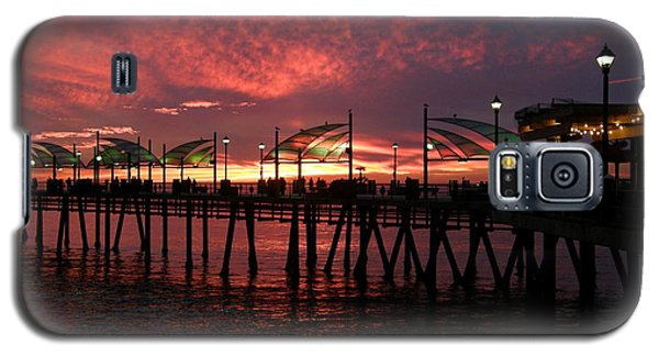 Redondo Beach Pier At Sunset Galaxy S5 Case