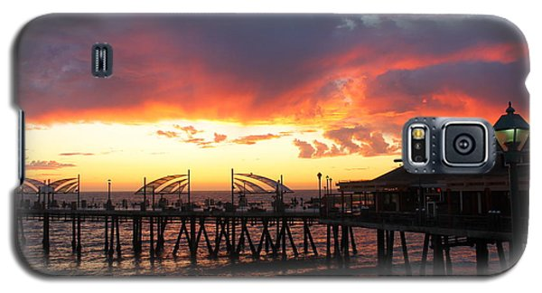 Redondo Pier Sunset Galaxy S5 Case