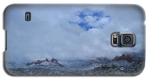 Galaxy S5 Case featuring the photograph Redrock Clearing by Tom Kelly