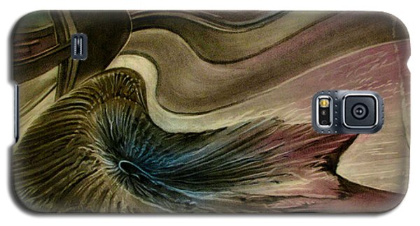 Redrockspalmfrondcomp 2010 Galaxy S5 Case by Glenn Bautista