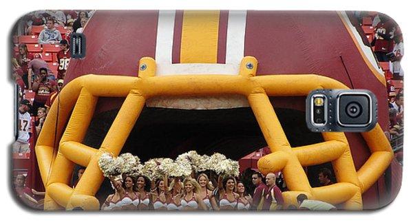 Redskins Cheerleaders Galaxy S5 Case by Natalie Ortiz