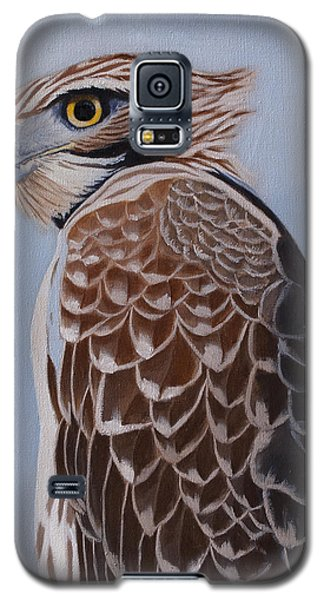 Redtail Portrait Galaxy S5 Case