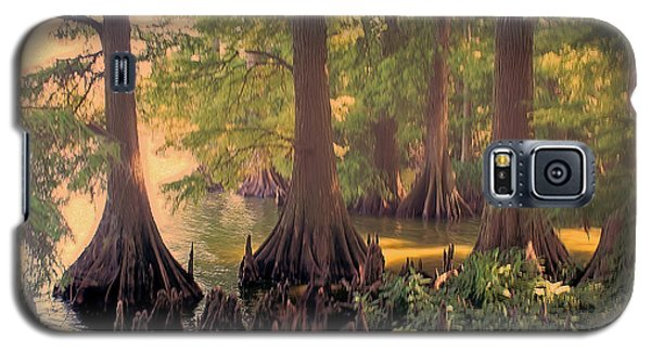 Reelfoot Lake At Sunset Galaxy S5 Case by Bonnie Willis