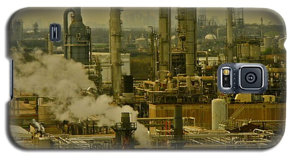 Refineries In Houston Texas Galaxy S5 Case by Kirsten Giving
