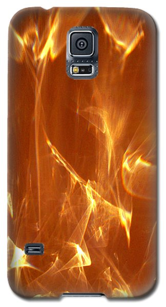 Galaxy S5 Case featuring the photograph Reflected Angel by Leena Pekkalainen