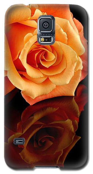 Reflected Rose Galaxy S5 Case