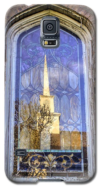 Reflected Steeple Galaxy S5 Case by Rebecca Hiatt