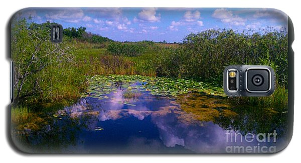 Reflecting In The Glades Galaxy S5 Case