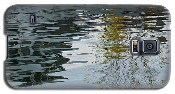 Galaxy S5 Case featuring the photograph Reflecting On Autumn Trees by Georgia Mizuleva